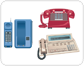 examples of telephones [2]