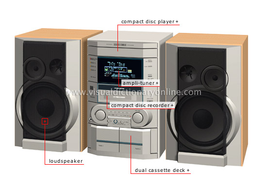 mini stereo sound system