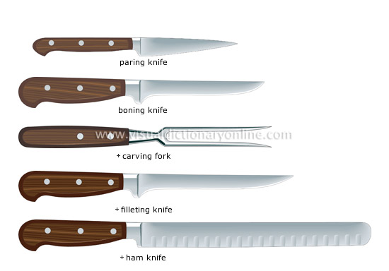 examples of kitchen knives [2]