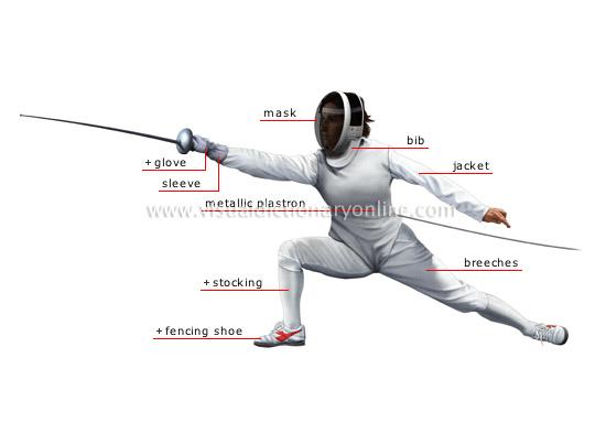 sports amp games combat sports fencing fencer image