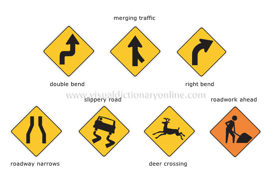 major North American road signs [3]